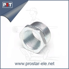BS4568 Steel Electrical Galvanised Reducer For Conduit Pipe Fitting