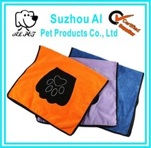 Pet Dog Cat Fast Drying Microfiber Bath Dog Towel