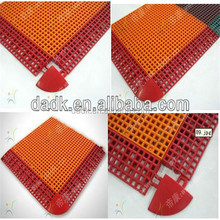 nobiliary basketball court tiles with pin-hole shape