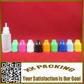 PE frasco gotero de plástico para e cig