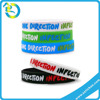 Wholesale Promotional Color Print Debossed Engrave Customized Silicone Hand Band