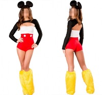 New arrival sexy mickey holloween costumes for sale