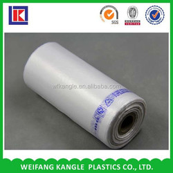 HDPE food grade plastic bag on roll