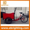 cargo delivery bike cargo tricycle china/electric in denmark