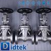 Didtek 30 Years Valve Manufacturer Oil Industrial gate valves gear operated