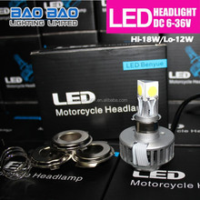 New Products on the Russian Market moto auto light, led headlight bulb 9007, led headlight COB 3-light led light 20w 1800lm