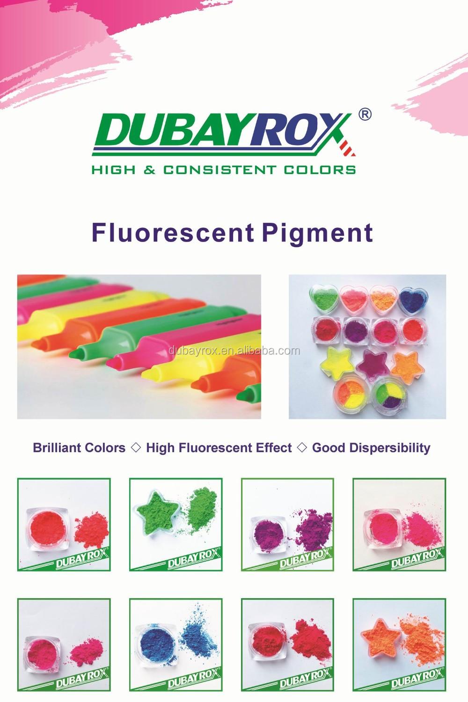 dubayrox fluorescent pigment