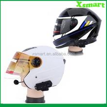 FM Wireless Bluetooth Motorcycle Helmet Intercom Headset waterproof