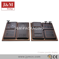 best selling necklace easel display with jewelry display riser sets