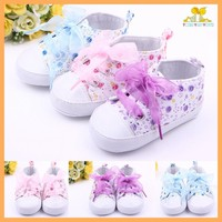 Wholesale fashion leather baby girl shoes
