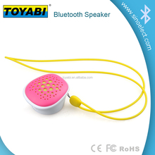 Waterproof Portable Shower Wireless Bluetooth Speaker with Rechargeable battery and handle for outdoor and indoor using