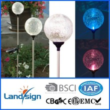 Hot New Products For 2015 Led Bulb Grass solar parking lot light Colorful LED Light