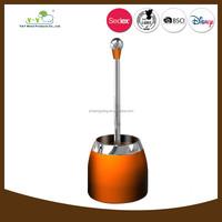 New product in China novelty decorative ceramic toilet brush holder