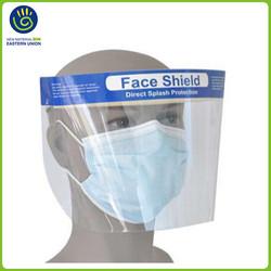 Protective eco-friendly Face Shield Adjustable Anti-Fog Visor 20x FDA
