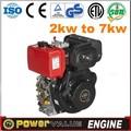 pequeno gerador a diesel motor 2 twin cilindros do motor diesel para venda