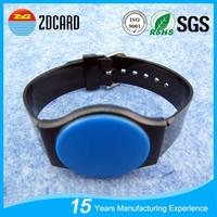 Customized plastic NFC Wrist Tags for Wristband Bracelets