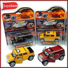 Die cast toy jeep