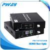 Hot sell HDMI extender sender receiver over optic fiber cable