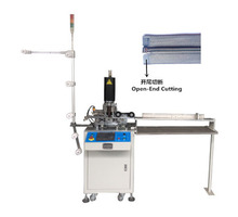 ZIPPER MAKING MACHINES FACTORY/2015 JEE AUTO NYLON PLASTIC ULTRASONIC CUTTING MACHINE, ZIPPER PINKING MACHINE