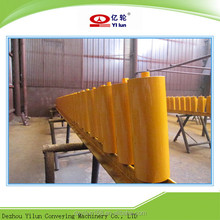 DT 75 Standard yellow color Flat idler, roller, carrying