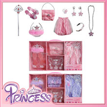 Baby girls party toys princess costumes accessories set Princess dress up set