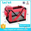 Pet Folding Carrier Cat / Dog Breathable EVA Comfort Travel Tote Folding Bag