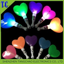 new wholesale colorful star led stick,party supply