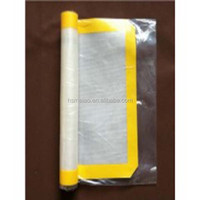 Non toxic material is safe for all food and Easy Clean sc silicone baking mat