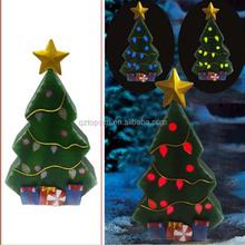 Outdoor metal Christmas trees led solar light ornament