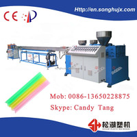 Multicolor plastic Drinking Straw Extrusion Production Line