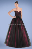 High Quality Sweetheart Neckline Princess Prom Dress Backless A line tulle New Dress