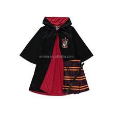 Boys Harry Potter Fancy Dress Costume - Scarf Wand Cape Glasses BC419
