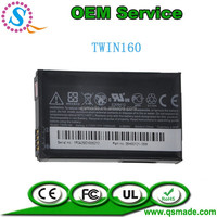 Factory OEM Original Quality 1350mAh TWIN160 Battery For HTC 100 130 300 A6262 A6288 GOOGLE G3 G3A Droid Eris Legend Cellphone