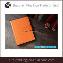customized mini pu notebook leather notebook