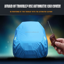 Car Cover Sun Shade UV&Dust Protection Automatic Operation Sun Protection Car Cover