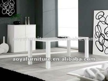 AY-6011T new style modern high gloss Dining table