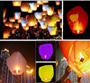 Different size hot air balloon paper lantern for wedding