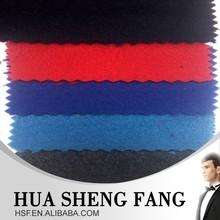 Red Imitate Wool Polyester Viscose Fabric Stocklot