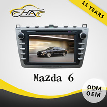 Special For Mazda 6 In Dash Car DVD GPS With Touch Screen/ Bluetooth/ USB/ SD/ Camera