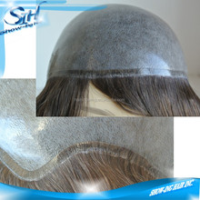 Easy wear and take, silicon hair replacement system for cancer person