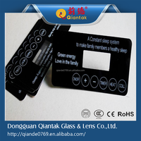 Customized PET/PC/PVC panels Industrial Membrane Keypads Switch