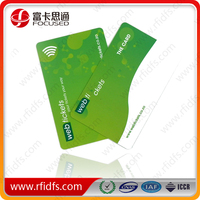 rfid business card of rfid smart card for access control