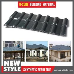 Quality assurance synthetic resin light weight spanish tile roof