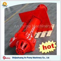 Factory produce High Cr Mo Ni alloy rubber liner Submersible sump pump vertical slurry pump