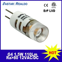 Manufacturer 2015 new 12V 1.5W G4 LED with CE RoHS