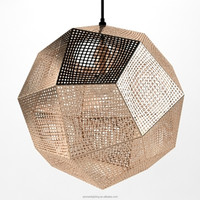 Replica Tom Dixon Etch geometry box stainless steel pendant PLP8047-S/ PLP8047-L