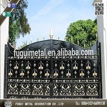 de lujo de hierro forjado de la casa la puerta principal de diseños
