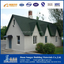 low cost roof tiles-Colored bitumen shingle