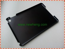wholesale 2d black sublimation hard pc back cover case for ipad mini 4