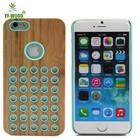 Ofcell telefone CaSO Luxo cool textured padrão de grão de Madeira de Luxo para iphone6 flip cover